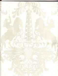 Studio Printworks: Dream powder room wallpaper