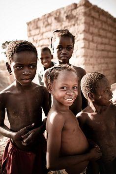 Burkina Faso Children