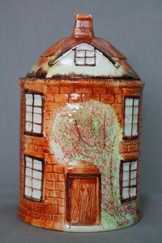 Vintage Cottage Cookie Jar Price Kensington Cottage Ware Biscuit Jar | eBay