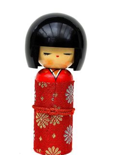 Kokeshi Puppen aus Japan  www.dixing-shop.de
