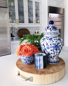 "1,028 Likes, 15 Comments - Sue De Chiara | The Zhush (@zhush) on Instagram: ""Orange crush. Details via @liketoknow.it http://liketk.it/2pzmQ #liketkit #ltkhome #blueandwhite…"""