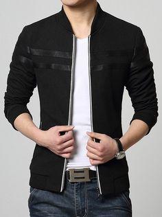$28.22 Simple black jacket.