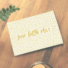 Little Star Greeting Card
