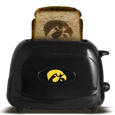 Iowa Hawkeyes Toaster - Black