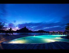 Le Meridien Bora Bora-After hours swim perhaps?