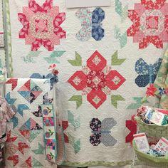 Kate Spain's Aria collection #modagoestomarket #fqsfun #fqsquiltmarket #quiltmarket #showmethemoda @modafabrics