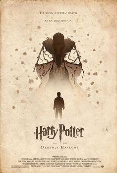 Alternative cover, Deathly Hallows