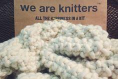 We are Knitters: la manta de lana hecha a mano