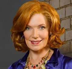 Susan Sullivan - now on tv show Castle. Castle Tv Series, Castle Tv Shows, Susan Sullivan, Richard Castle, Castle Beckett, Old Time Radio, Women Names, Beautiful Actresses, Red Hair