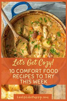 10 Comfort Food Reci