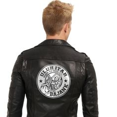 bajank Motor cycle club Logo