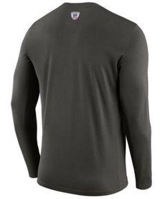 Nike Men's Tampa Bay Buccaneers Legend Staff Long Sleeve T-Shirt - Gray XXL