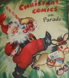"""Christmas on Parade"" Vintage Kids Book"