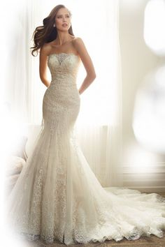 sale sophia tolli bridal Y11574 - Alouette price cost 2039 wedding dress Precious detailing
