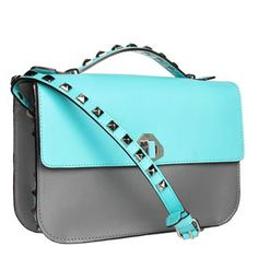 Rebecca Minkoff BLAKE Crossbody in Turquoise with Silver Hardware Rebecca Minkoff Handbags, Blue Shoulder Bags, Fashion Addict, Turquoise, Purses, My Style, Polyvore, Accessories, Hardware