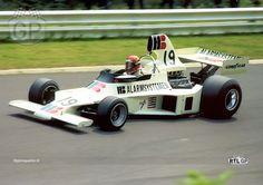 1975 GP Niemiec (Nurburgring) Ensign N175 - Ford (Gijs van Lennep)