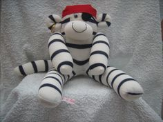 Another style of pirate sock monkey