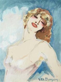 Kees van Dongen - Portrait de femme