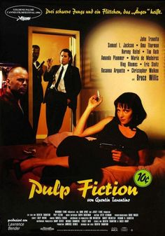 Pulp Fiction #movies #posters
