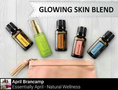 Get a natural, healthy looking skin tone with regular applications of:  -Massage 3 drops of Frankincense essential oil with FCO into dull skin and wrinkles every morning. -Evenly rub 3 drops of Lemon essential oil with a pinch of salt and olive oil each night -Spray a combo of Witch Hazel, 4 drops Geranium essential oil, and 4 drops Ylang-ylang essential oil for a flowering delicate tonic sure to nourish your skin every day -Moisturize with doTERRA's Hydrating Serum as needed