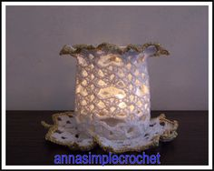 Annasimplecrochet: Bougeoir