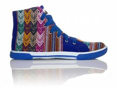 Blue Lagoon | INKKAS Phuyupata Shoes | Tribal