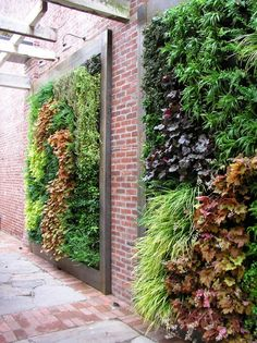 Stunning Vertical Garden for Wall Decor Ideas Do you have a blank wall? do you want to decorate it? the best way to that is to create a vertical garden wall inside your home. A vertical garden wall, also called… Continue Reading → Garden Fencing, Garden Landscaping, Garden Floor, Jardin Vertical Artificial, Garden Ideas To Make, Diy Garden, Green Garden, Planter Garden, Lavender Garden