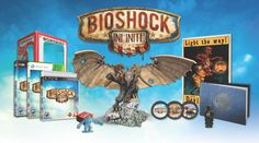 Bioshock Infinite: Ultimate Songbird Edition for PC by Irrational Games, 2013 Bioshock 2, Bioshock Infinite, Ken Levine, Irrational Games, Resident Evil 7 Biohazard, Happy Pig, Game Informer, Old Things
