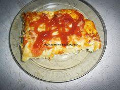 Moje domowe kucharzenie: Pizza bez wyrastania
