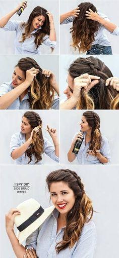 51 Besten Frisuren Bilder Auf Pinterest Frisur Ideen