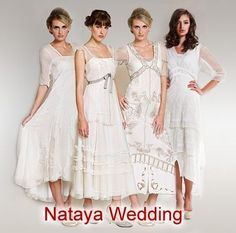 Wardrobe Shop ~ The premier online shopping destination for Vintage Inspired Nataya Wedding Dresses and Separates web-sites