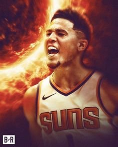 "Bleacher Report on Instagram: ""Suns in the bubble:⁣ ⁣ 🔥 5-0⁣ 🔥 Last undefeated team⁣ 🔥 @dbook: 29.4 PPG  50.0 FG%⁣ 🔥 0.5 game out of postseason play-in"" Mvp Basketball, Basketball Pictures, Devin Booker, Nba, Bubbles, Games, Artwork, Group, Stars"