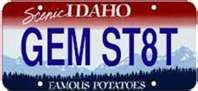 Idaho State Information Links Symbols Capital Constitution Flags Maps Song Boise State University, Constitution, Idaho, Car Tags, Painted Rocks, Places, Potato, Pride, Gems