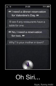 Siri, you've done it again.