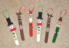 DIY Popsicle Stick Christmas Ornaments - DIY Popsicle Stick Christmas Ornaments Source by tykho Christmas Ornaments To Make, Easy Christmas Crafts, Christmas Activities, Christmas Art, Handmade Christmas, Christmas Decorations, Diy Ornaments, Christmas Ideas, Popcycle Stick Ornaments