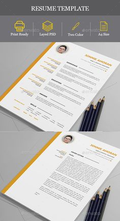 resume psd templates and logos - Templates For A Resume