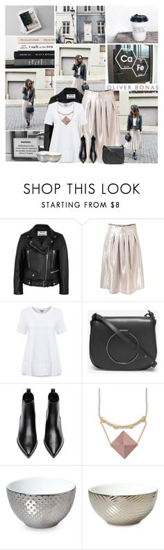 """""""You don't need a fan club to achieve your goals. Be your own motivation. (Oliverbonas 11)"""" by leannesugarplum ❤ liked on Polyvore featuring Acne Studios"""