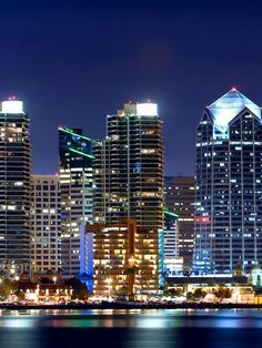San Diego, #California - Skyline http://VIPsAccess.com/luxury-hotels-los-angeles.html