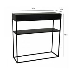 Discover recipes, home ideas, style inspiration and other ideas to try. Console Metal Noir, Baby Cradle Wooden, Side Table With Storage, Entryway Console, Living Room Remodel, Metal Furniture, Home Accents, Rattan, Cribs