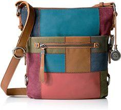 The Sak Sanibel Crossbody, Multi Patch: Handbags: Amazon.com