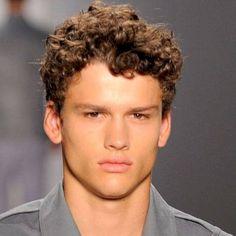 Pelo Rizado Hombres Hombre Chicos Cortes Pelo Corte Peinado