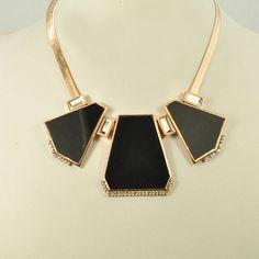 Art Deco Necklace Blooming Ltd
