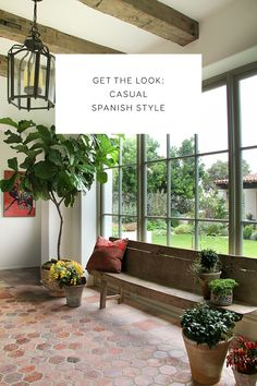 get the look: casual spanish style. -- photo © jessica comingore for chris barrett design.