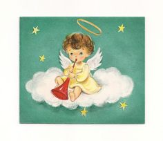 US $3.45 Used in Collectibles, Paper, Vintage Greeting Cards