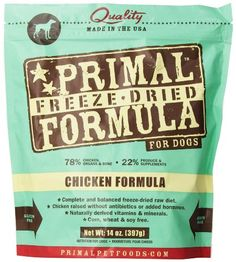 BESTSELLER! Primal Pet Foods Freeze-Dried Canine...