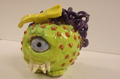 Pinchpot Monsters -- LESSON PLAN -- Enduring Idea: Throughout time and across cultures people have used pinch pots to create decorative and functional ceramic pieces Lesson Title: From the Palm of your Hand Grade/Class: Ceramics I...