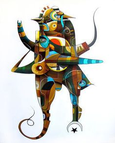 Doze Green, 'Annuaki Series - Nibiru,' 2012, Jonathan LeVine Gallery