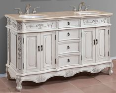 Are you looking for an extra sink bathroom vanity for your bathroom? 48 inch double sink bathroom vanity is the perfect one to complete your bathroom properties. A bathroom vanity is an installation that is used to place the sink and faucet. Double Sink Bathroom, Single Sink Bathroom Vanity, Vanity Sink, Bathroom Vanities, White Bathroom, Vanity Fair, Small Bathroom, White Double Vanity, Double Sink Vanity