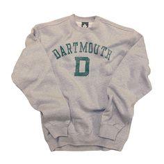 Dartmouth College Team Vintage Sweatshirt #dartmouth_sweatshirt #ivy_league #vintage #mens_fashion $44.95