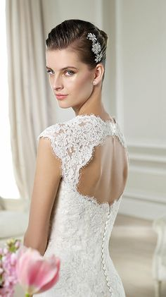 Stunning White One Bridal Collection from Barcelona! http://www.modwedding.com/2014/03/19/white-one-wedding-dresses-barcelona/ #wedding #weddings #fashion #dresses #weddingdress